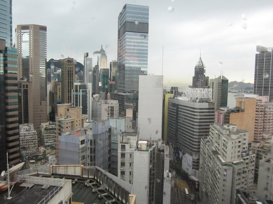 Regal Hongkong Hotel: Wonderful view from our breakfast table