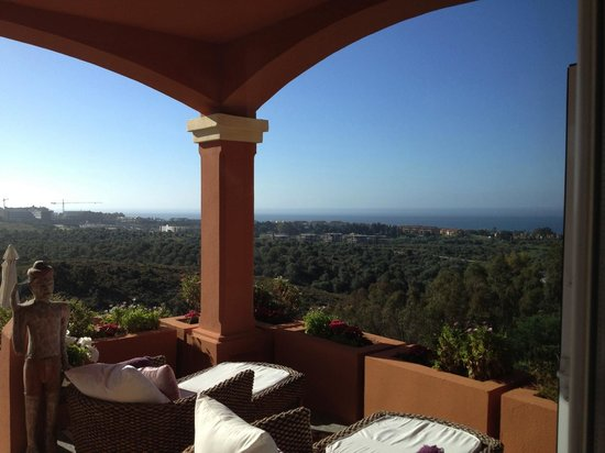 The Marbella Heights Boutique Hotel: Desde la terraza de Marbella Heights Hotel