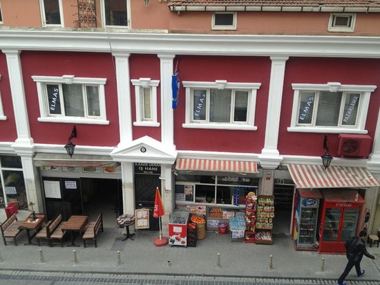 Sirkeci Konak Hotel: view from my balcony