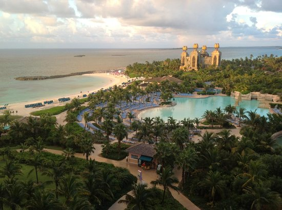 The Cove Atlantis: View from my balcony