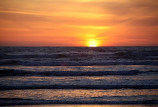 Rivertide Suites: Sunset at Seaside Oregon