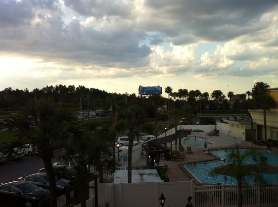Holiday Inn & Suites Main Gate to Universal Orlando: View from our room