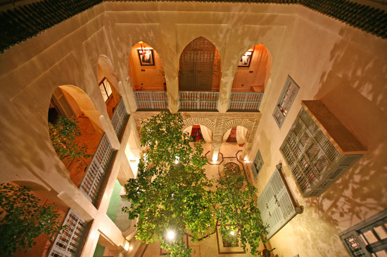 Riad Misria: Patio