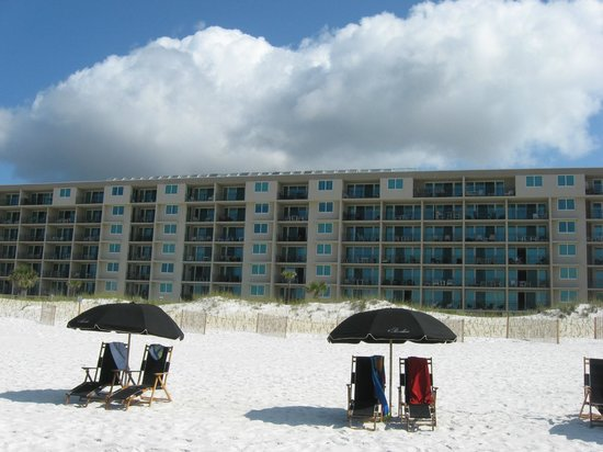 The Breakers at Fort Walton Beach: View from Water