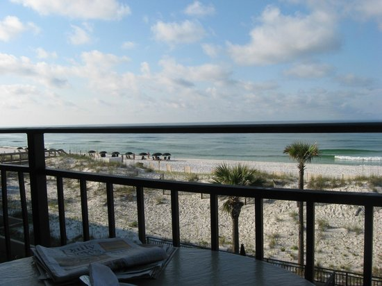 The Breakers at Fort Walton Beach: View from room looking East