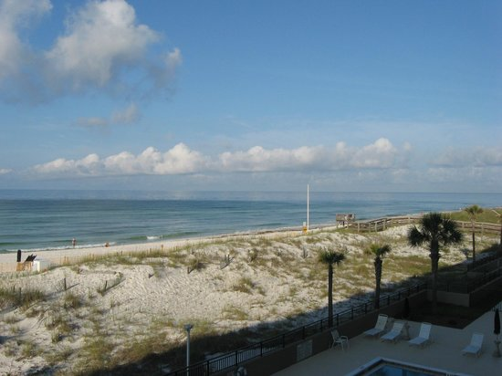 The Breakers at Fort Walton Beach: View from room looking West