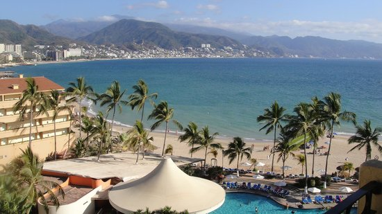 Holiday Inn Puerto Vallarta: View from Hotel Balcony