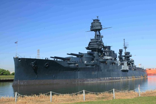 Battleship texas state historic site la porte on for Attractions in la porte tx