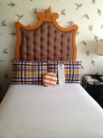 Hotel Monaco Portland - A Kimpton Hotel: I kind of want this to be my bed at home.