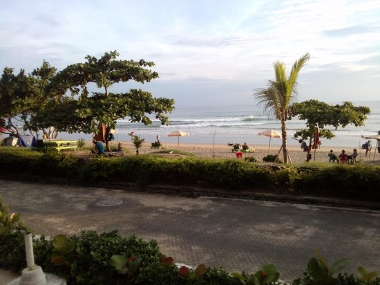 Padma Resort Bali at Legian: View of the beach from the Sunset Bar
