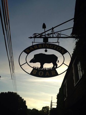 Ilminster, UK: The Barrington Boar