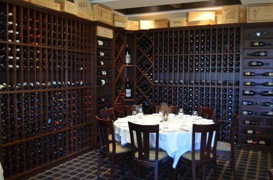 Ludlow, VT: Wine Room at Coleman Brook Tavern