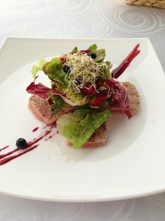 Grand Miramar Club & Spa: my fav salad
