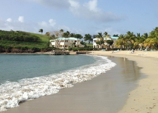 ‪‪The Buccaneer -- St Croix‬: Beach view of Doulbloon suites‬