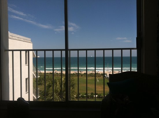 Blockade Runner: View from our room