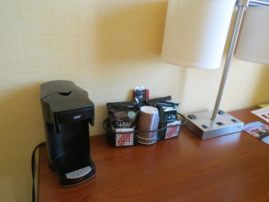 Aquarius Casino Resort: coffee maker