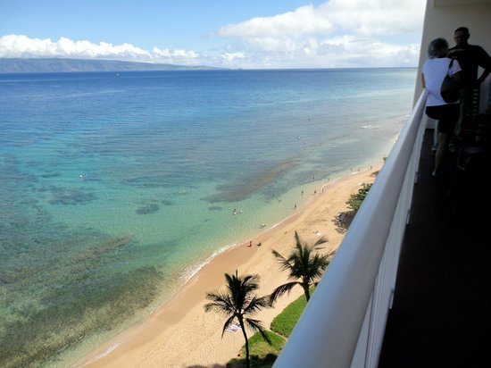Ka'anapali Beach Club: view from room