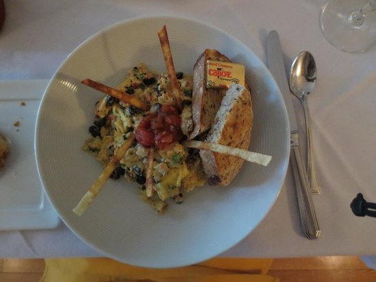 Red Clover Inn & Restaurant: food