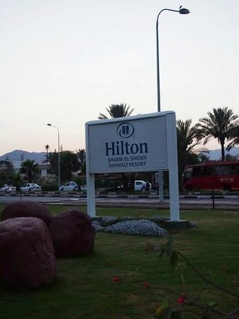 Hilton Sharm El Sheikh Fayrouz Resort: Outside