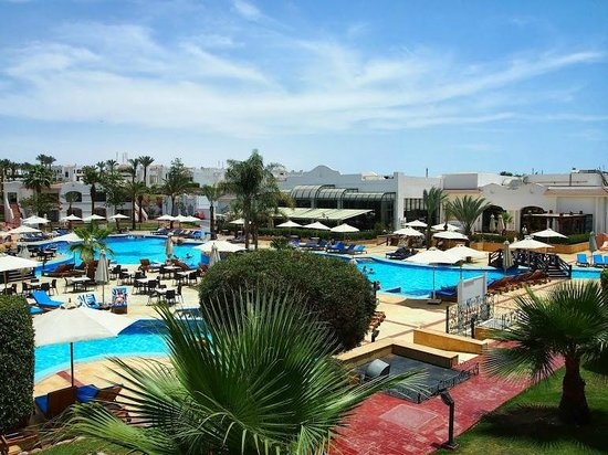 Hilton Sharm Dreams Resort: View from Balcony