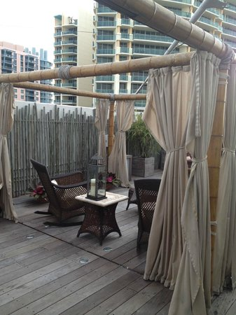 The Betsy Hotel, South Beach: Rooftop Patio