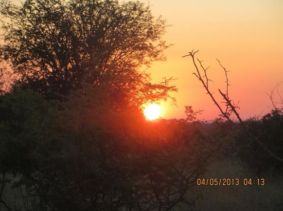 Imbali Safari Lodge: kruger sunset