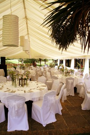 Chesterton, UK: Marquee
