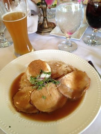 Shepherdstown, WV: Authentic German food and beer that tasted delicious.