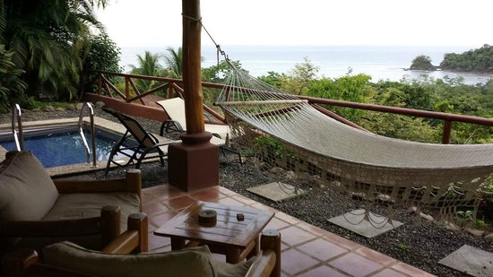 Hotel Punta Islita: Room's outdoor area - Casita 207