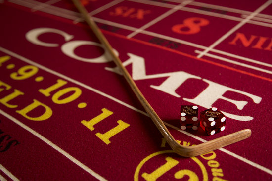 Rocky Gap Casino Resort: Craps Table