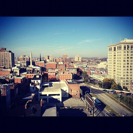 Home2 Suites by Hilton Baltimore Downtown: Our view