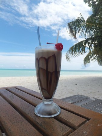 Meeru Island Resort & Spa: Amazing Ice Coffee