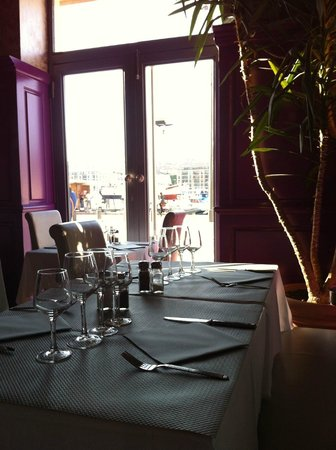 Saumon frite picture of l 39 entrecote du port - Restaurant l entrecote marseille vieux port ...