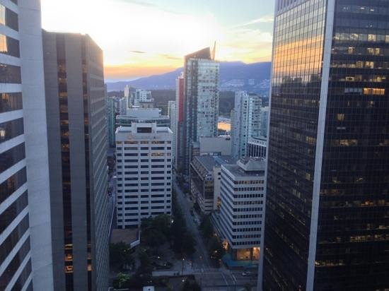 Hyatt Regency Vancouver: View From Room 3216