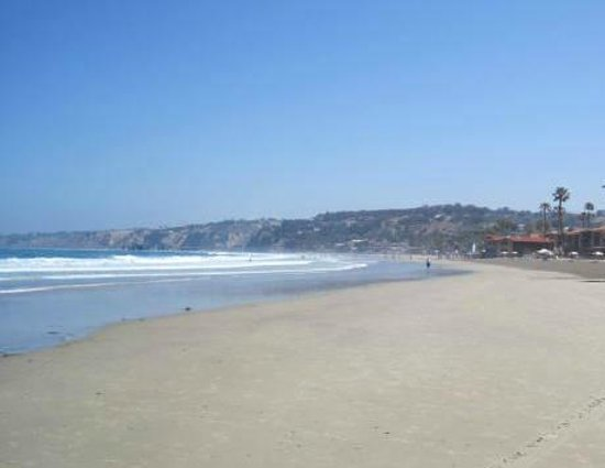 La Jolla Shores Hotel: Beach at La Jolla Shores