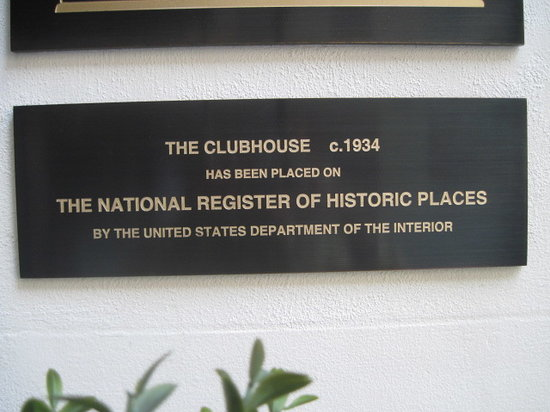 3 West Club: We are extremely proud to have been designated a historic site!