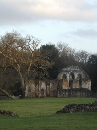 Surrey, UK: part of ruin
