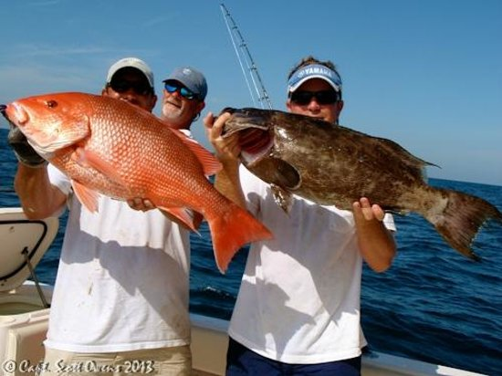 Hells bay 27 offshore picture of captain scott owens for Deep sea fishing bay area