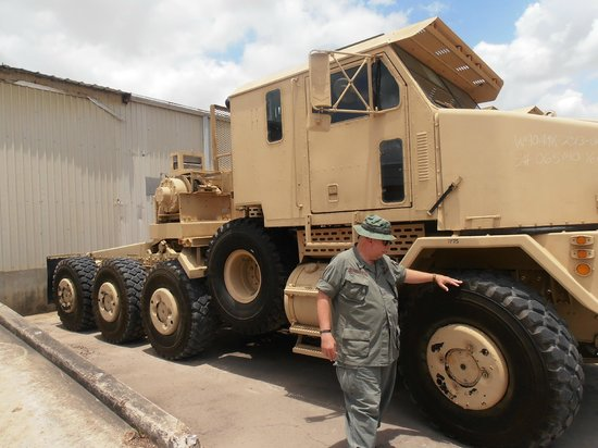 One Big Truck Picture Of Military Museum Of Texas