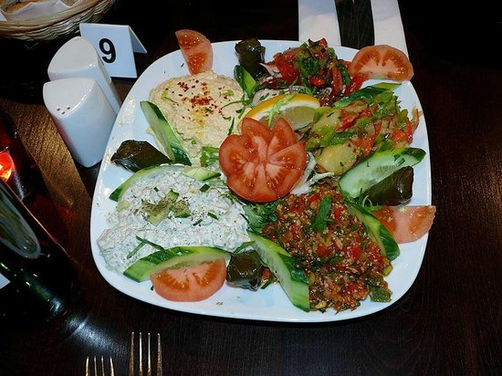 ‪‪Bridgwater‬, UK: Cold Meze platter...‬