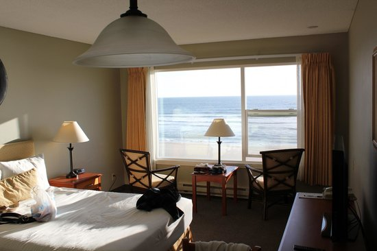 View From Our Room At The Pelican Shores Picture Of