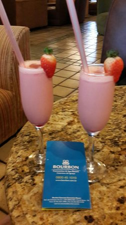 Bourbon Cataratas Convention & Spa Resort: Welcome Drink