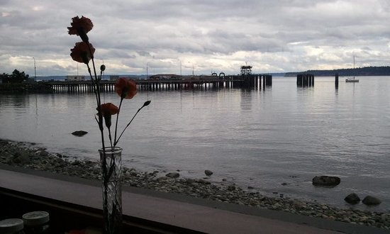 Huber's Inn Port Townsend: view from one of the many waterfront restaurants in Port Townsend.