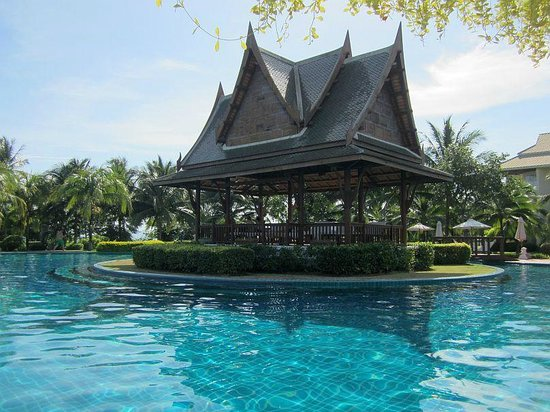 Sofitel Krabi Phokeethra Golf & Spa Resort : Pool View