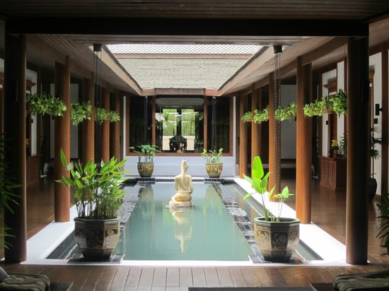 Sofitel Krabi Phokeethra Golf & Spa Resort : Beautiful Spa Centre (inside)