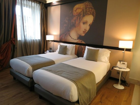 Gran Melia Rome: The hotel offers twin beds if you prefer
