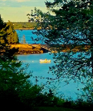Georgetown, ME: Spectacular View from back porch
