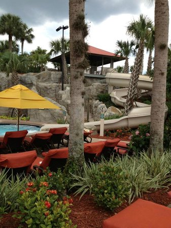 Hyatt Regency Grand Cypress: Waterslide & Heated Pool