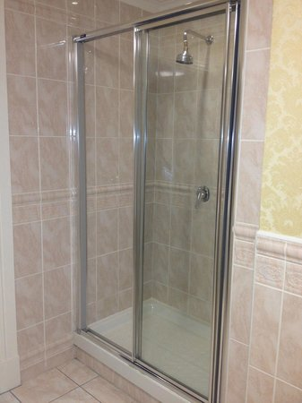 Hayfield Manor Hotel: shower