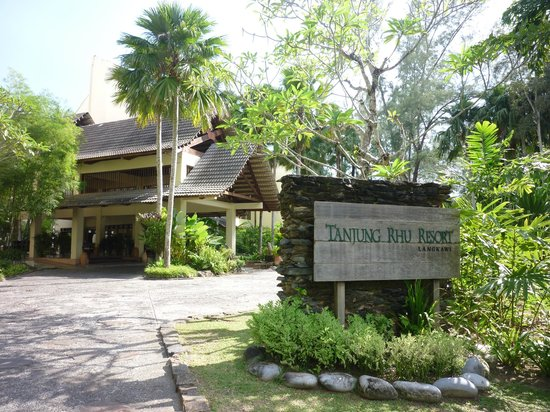 Tanjung Rhu Resort: resort entrance